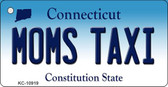 Moms Taxi Connecticut State License Plate Wholesale Key Chain KC-10919