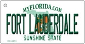 Fort Lauderdale Florida State License Plate Wholesale Key Chain KC-6013
