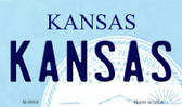 Kansas State License Plate Novelty Wholesale Magnet M-6600