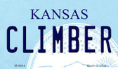 Climber Kansas State License Plate Novelty Wholesale Magnet M-6644