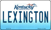 Lexington Kentucky State License Plate Novelty Wholesale Magnet M-6759
