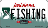 Fishing Louisiana State License Plate Novelty Wholesale Magnet M-6206