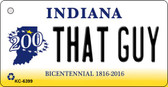 That Guy Indiana State License Plate Novelty Wholesale Key Chain KC-6399