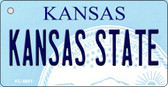 Kansas State University License Plate Novelty Wholesale Key Chain KC-6601
