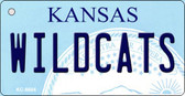 Wildcats Kansas State License Plate Novelty Wholesale Key Chain KC-6604