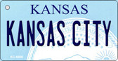 Kansas City State License Plate Novelty Wholesale Key Chain KC-6606