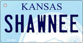 Shawnee Kansas State License Plate Novelty Wholesale Key Chain KC-6613