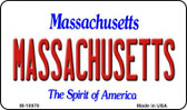Massachusetts State License Plate Wholesale Magnet M-10978