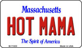 Hot Mama Massachusetts State License Plate Wholesale Magnet M-11000