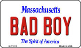 Bad Boy Massachusetts State License Plate Wholesale Magnet M-11015