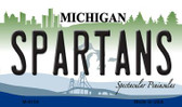 Spartans Michigan State License Plate Novelty Wholesale Magnet M-6104