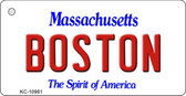 Boston Massachusetts State License Plate Wholesale Key Chain KC-10981
