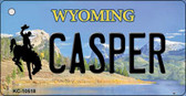 Casper Wyoming State License Plate Wholesale Key Chain