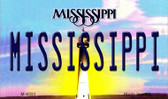 Mississippi State License Plate Wholesale Magnet M-6551