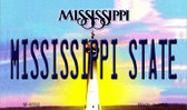Mississippi State University License Plate Wholesale Magnet M-6552
