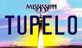 Tupelo Mississippi State License Plate Wholesale Magnet M-6560