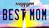 Best Mom Mississippi State License Plate Wholesale Magnet M-6657