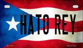 Hato Rey Puerto Rico State Flag License Plate Wholesale Motorcycle License Plate MP-11400