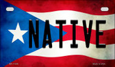 Native Puerto Rico State Flag License Plate Wholesale Motorcycle License Plate MP-11408