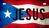 Jesus Puerto Rico State Flag License Plate Wholesale Motorcycle License Plate MP-11410