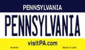 Pennsylvania State License Plate Wholesale Magnet M-6046