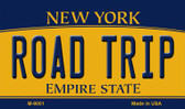 Road Trip New York State License Plate Wholesale Magnet M-9001