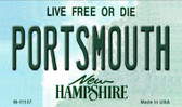 Portsmouth New Hampshire State License Plate Wholesale Magnet M-11137