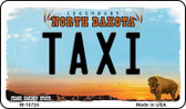 Taxi North Dakota State License Plate Wholesale Magnet M-10724