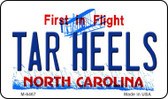 Tar Heels North Carolina State License Plate Wholesale Magnet M-6467