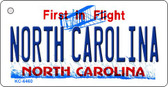 North Carolina State License Plate Wholesale Key Chain KC-6460
