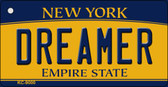 Dreamer New York State License Plate Wholesale Key Chain KC-9000