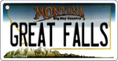 Great Falls Montana State License Plate Novelty Wholesale Key Chain KC-11094