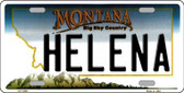 Helena Montana State Novelty Wholesale License Plate LP-11093