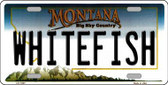 Whitefish Montana State Novelty Wholesale License Plate LP-11097