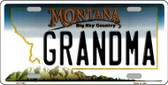 Grandma Montana State Novelty Wholesale License Plate LP-11103