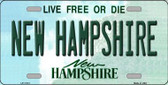 New Hampshire State Wholesale License Plate LP-11131