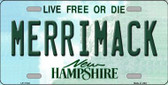 Merrimack New Hampshire State Wholesale License Plate LP-11142