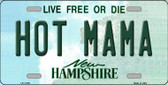 Hot Mama New Hampshire State Wholesale License Plate LP-11155