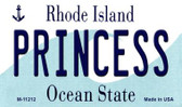 Princess Rhode Island State License Plate Novelty Wholesale Magnet M-11212