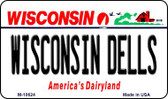 Wisconsin Dells State License Plate Novelty Wholesale Magnet M-10624
