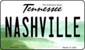 Nashville Tennessee State License Plate Wholesale Magnet M-6415