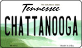 Chattanooga Tennessee State License Plate Wholesale Magnet M-6418