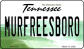 Murfreesboro Tennessee State License Plate Wholesale Magnet M-6419