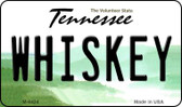 Whiskey Tennessee State License Plate Wholesale Magnet M-6424