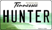 Hunter Tennessee State License Plate Wholesale Magnet M-6434