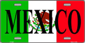 Mexico Wholesale Metal Novelty License Plate LP-3428