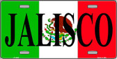 Jalisco Mexico Wholesale Metal Novelty License Plate LP-3429