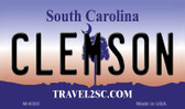 Clemson South Carolina State License Plate Wholesale Magnet M-6305