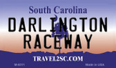 Darlington Raceway South Carolina State License Plate Wholesale Magnet M-6311