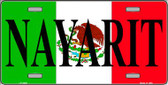 Nayarit Wholesale Metal Novelty License Plate LP-3438
